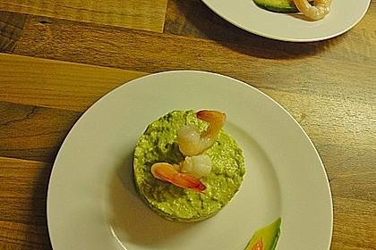 Scharfe Avocado - Garnelen - Törtchen 5