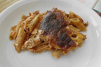 Vegetarisches Pastizio 10