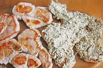 Filet vom Huhn mit Walnuss-Knoblauch-Kruste 57