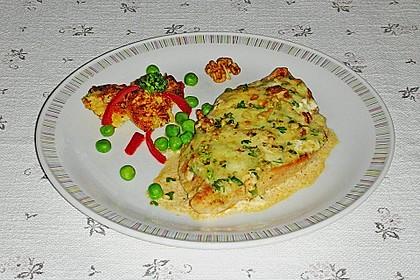 Filet vom Huhn mit Walnuss-Knoblauch-Kruste 32