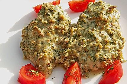 Filet vom Huhn mit Walnuss-Knoblauch-Kruste 14