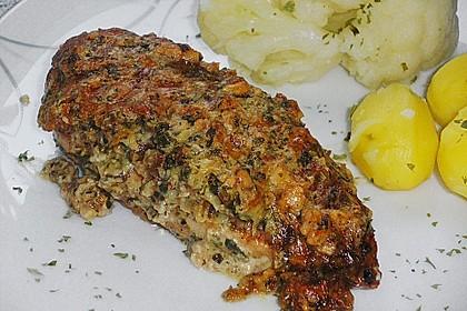 Filet vom Huhn mit Walnuss-Knoblauch-Kruste 9