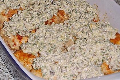 Filet vom Huhn mit Walnuss-Knoblauch-Kruste 56