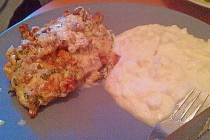 Filet vom Huhn mit Walnuss-Knoblauch-Kruste 65