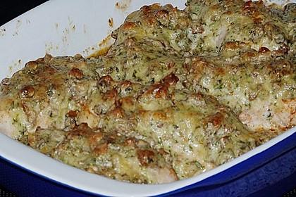 Filet vom Huhn mit Walnuss-Knoblauch-Kruste 44