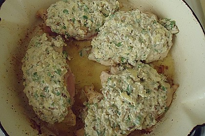 Filet vom Huhn mit Walnuss-Knoblauch-Kruste 37