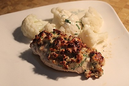 Filet vom Huhn mit Walnuss-Knoblauch-Kruste 13