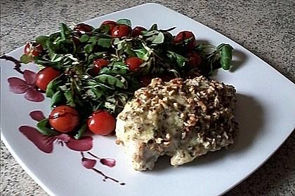 Filet vom Huhn mit Walnuss-Knoblauch-Kruste 28