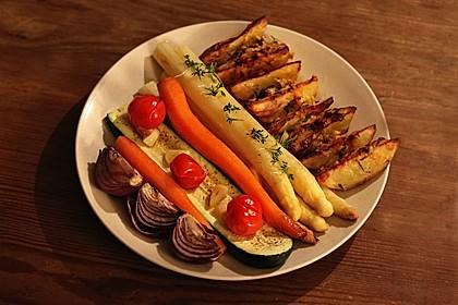 Spargel aus dem Ofen - ideal für Gäste 8