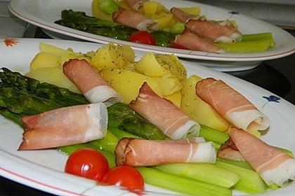 Spargel aus dem Ofen - ideal für Gäste 7