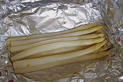 Spargel aus dem Ofen - ideal für Gäste 18