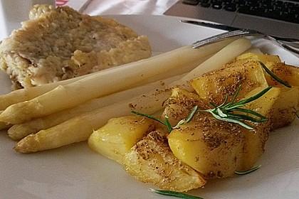 Spargel aus dem Ofen - ideal für Gäste 9
