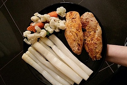 Spargel aus dem Ofen - ideal für Gäste 43