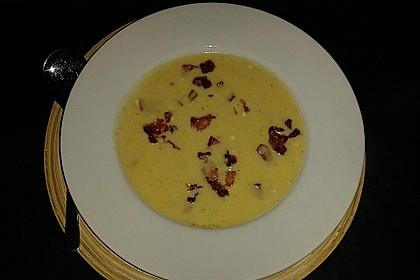 Feine Kartoffelsuppe mit Croûtons und Baconaroma 10