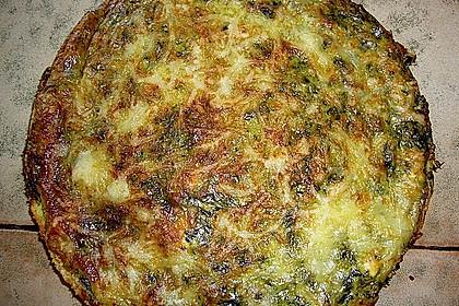 Quiche mit Spinat und Ziegenfrischkäse 31