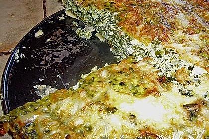 Quiche mit Spinat und Ziegenfrischkäse 36