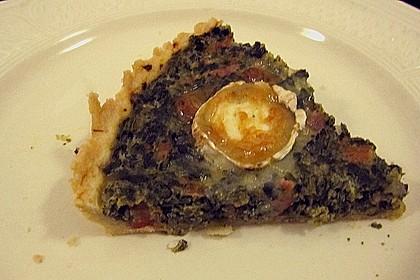 Quiche mit Spinat und Ziegenfrischkäse 37