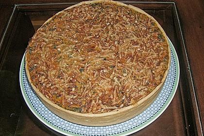 Quiche mit Spinat und Ziegenfrischkäse 32