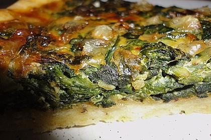 Quiche mit Spinat und Ziegenfrischkäse 22
