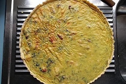 Quiche mit Spinat und Ziegenfrischkäse 27