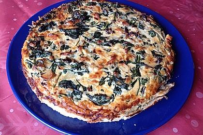 Quiche mit Spinat und Ziegenfrischkäse 25