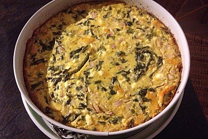 Quiche mit Spinat und Ziegenfrischkäse 23