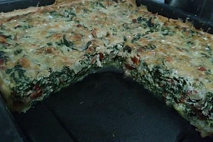 Quiche mit Spinat und Ziegenfrischkäse 24