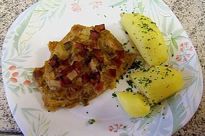 Lauch - Frischkäse - Schnitzel 18
