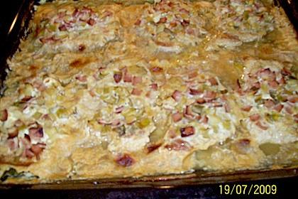 Lauch - Frischkäse - Schnitzel 31