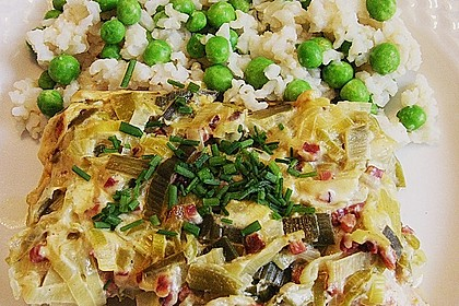 Lauch - Frischkäse - Schnitzel 7