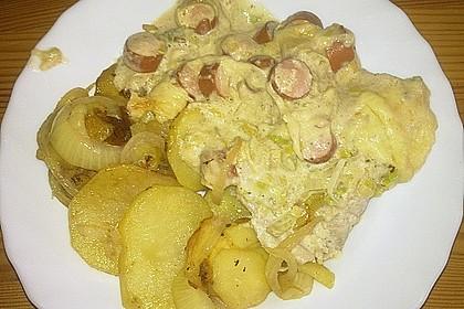 Lauch - Frischkäse - Schnitzel 26