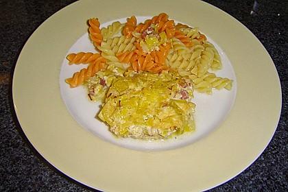 Lauch - Frischkäse - Schnitzel 4