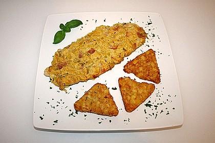 Lauch - Frischkäse - Schnitzel 0