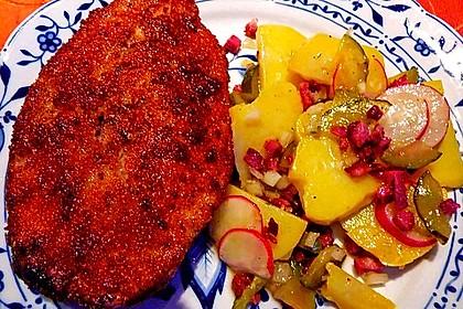 Kartoffelsalat mit Radieschen und Speck 13
