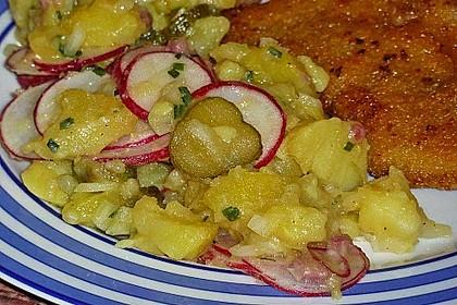 Kartoffelsalat mit Radieschen und Speck 14