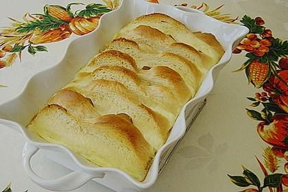 Süßer Brotauflauf  (Grundrezept + Varianten) 6