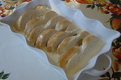 Süßer Brotauflauf  (Grundrezept + Varianten) 3