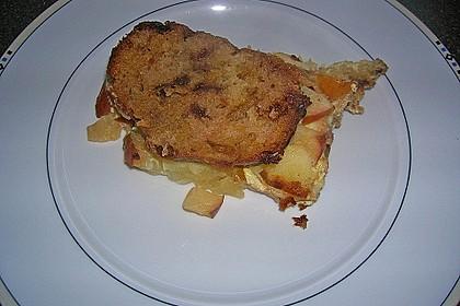 Süßer Brotauflauf  (Grundrezept + Varianten) 5