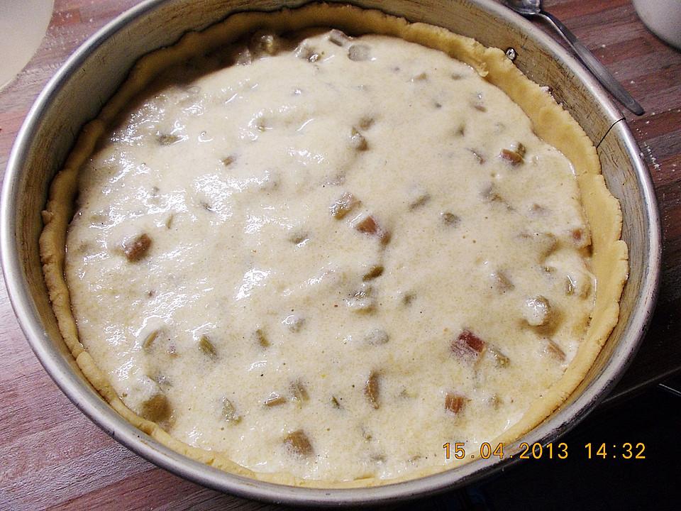 Rhabarberkuchen mit Kokosflocken von kleinehobbits | Chefkoch.de