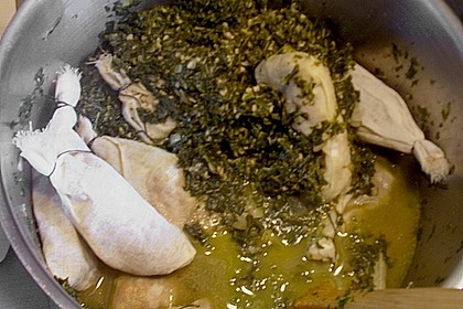 Pinkel vegetarisch auf Bremer Art 1