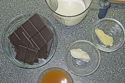 Passionsfrucht - Mousse mit Kakao - Ingwer - Sorbet und Schokoladen - Koriander - Strudel 3