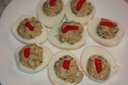 Gefüllte Eier mit Schnittlauch 2