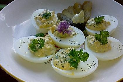 Gefüllte Eier mit Schnittlauch 1