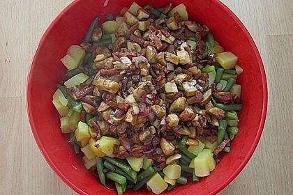 Kartoffelsalat mit grünen Bohnen 7