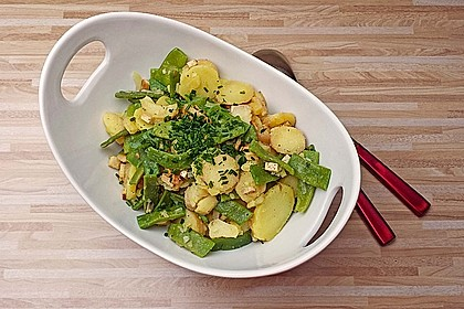 Kartoffelsalat mit grünen Bohnen 2