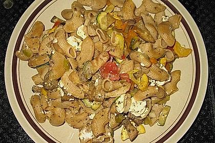 Gemüse - Vollkornnudelpfanne 2