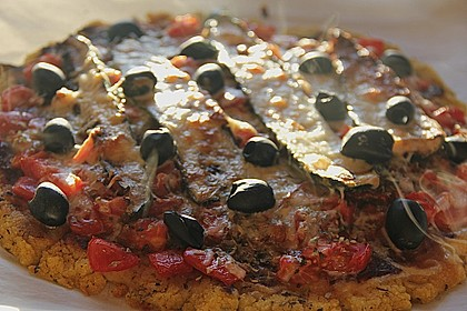 Polenta - Pizza mit Gemüse 2
