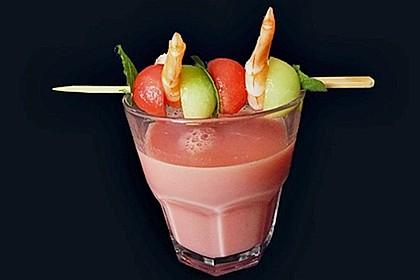 Kühles Melonensüppchen mit Kokosmilch und Ingwer 6