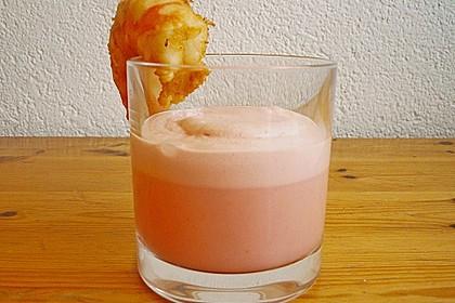 Kühles Melonensüppchen mit Kokosmilch und Ingwer 3