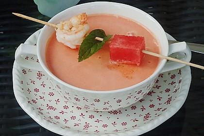 Kühles Melonensüppchen mit Kokosmilch und Ingwer 2